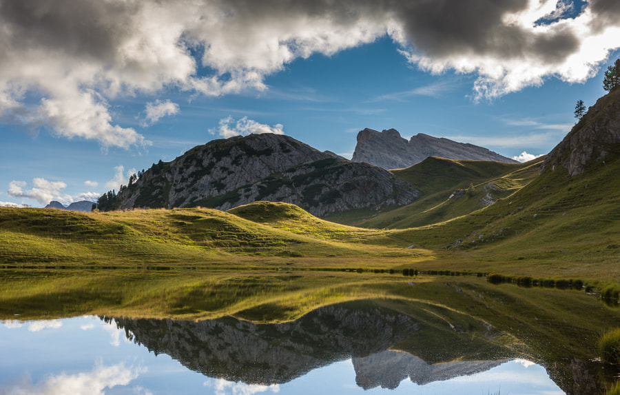 """<a href=""""http://www.hanskrusephotography.com/Workshops/Dolomites-September-22-26-2014/n-xDBrz/i-FZnCFLr/A"""">See a larger version here</a>  This photo was taken during a trip to the Eastern part of the the Dolomites September 2011 to prepare photo workshops in this area."""