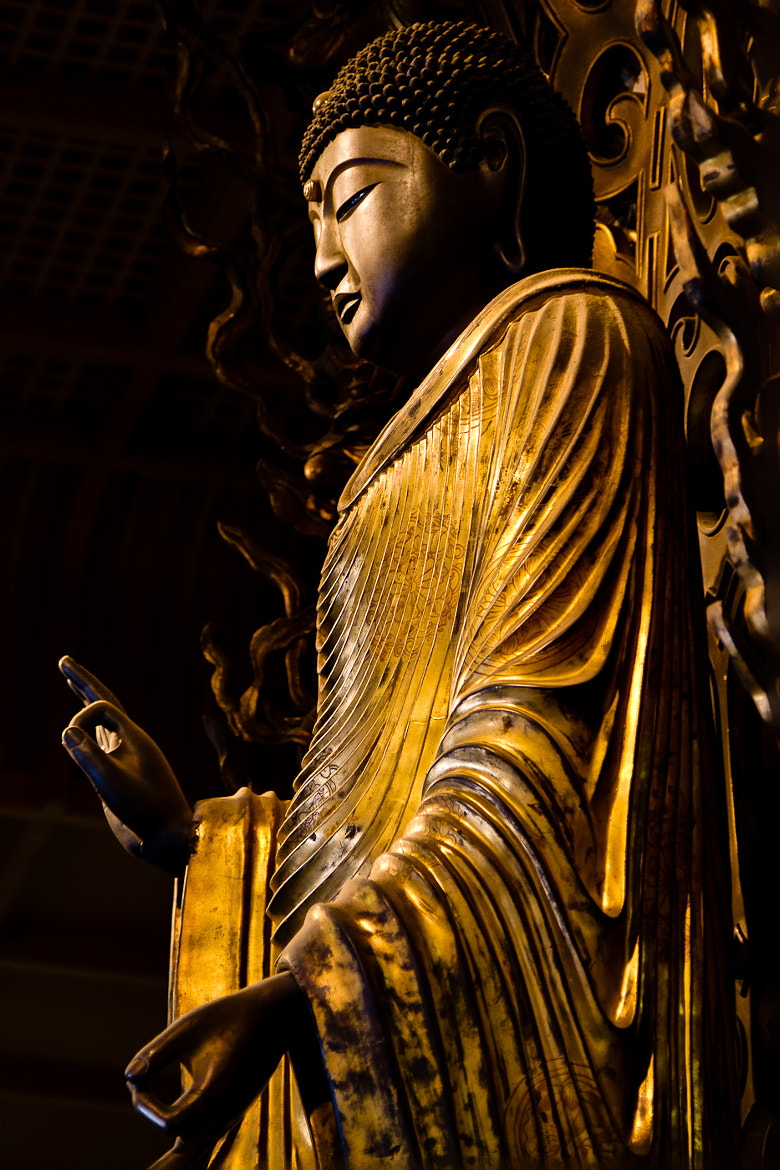 Photograph Kyoto Buddha by Mike Pistone on 500px