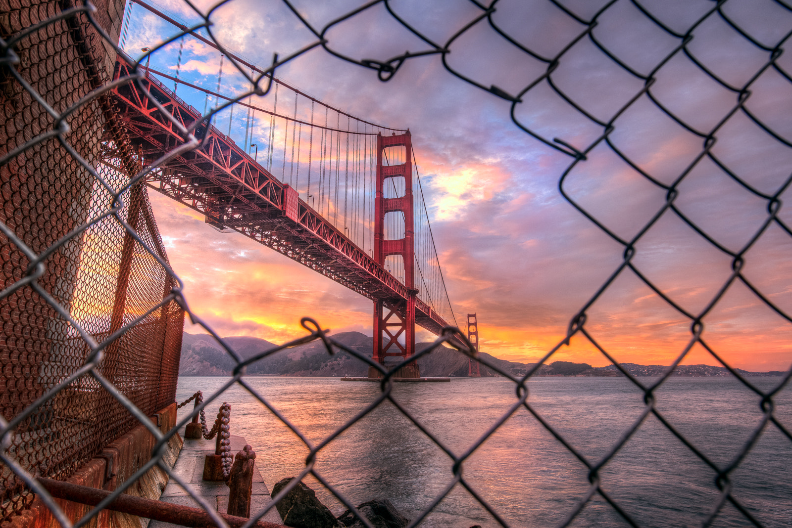 Photograph Golden Gate, Escape by Ali Erturk on 500px
