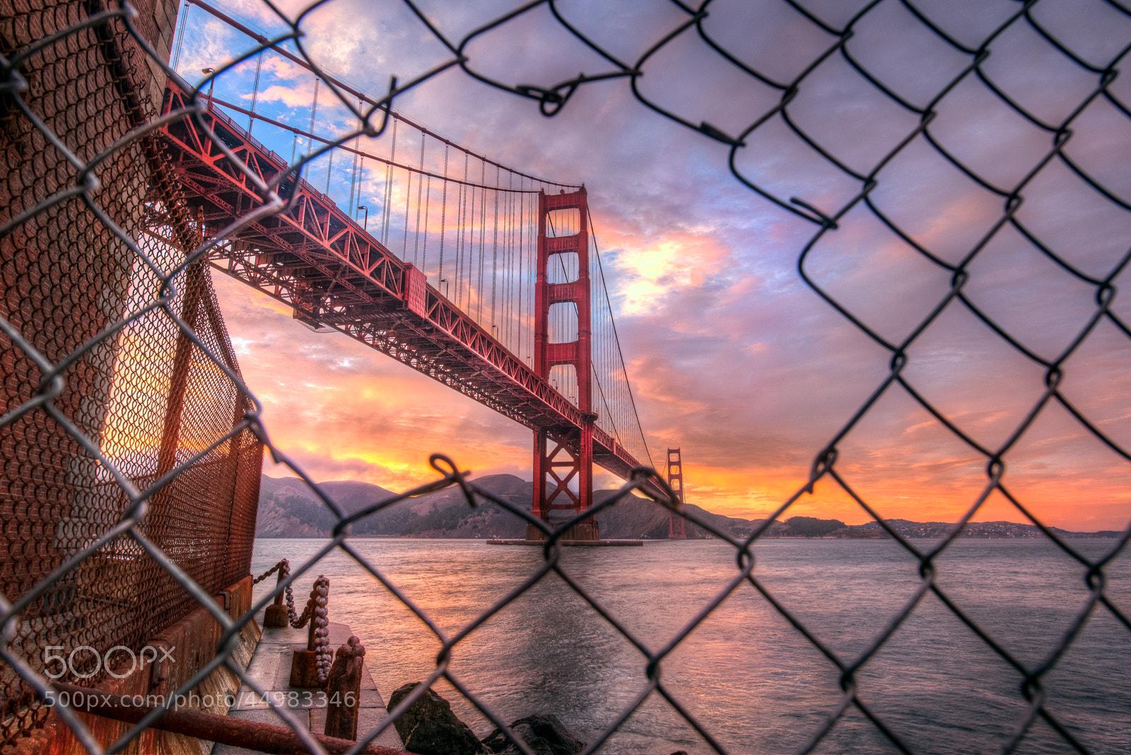 Photograph Golden Gate, Escape by Ali Erturk on 500px