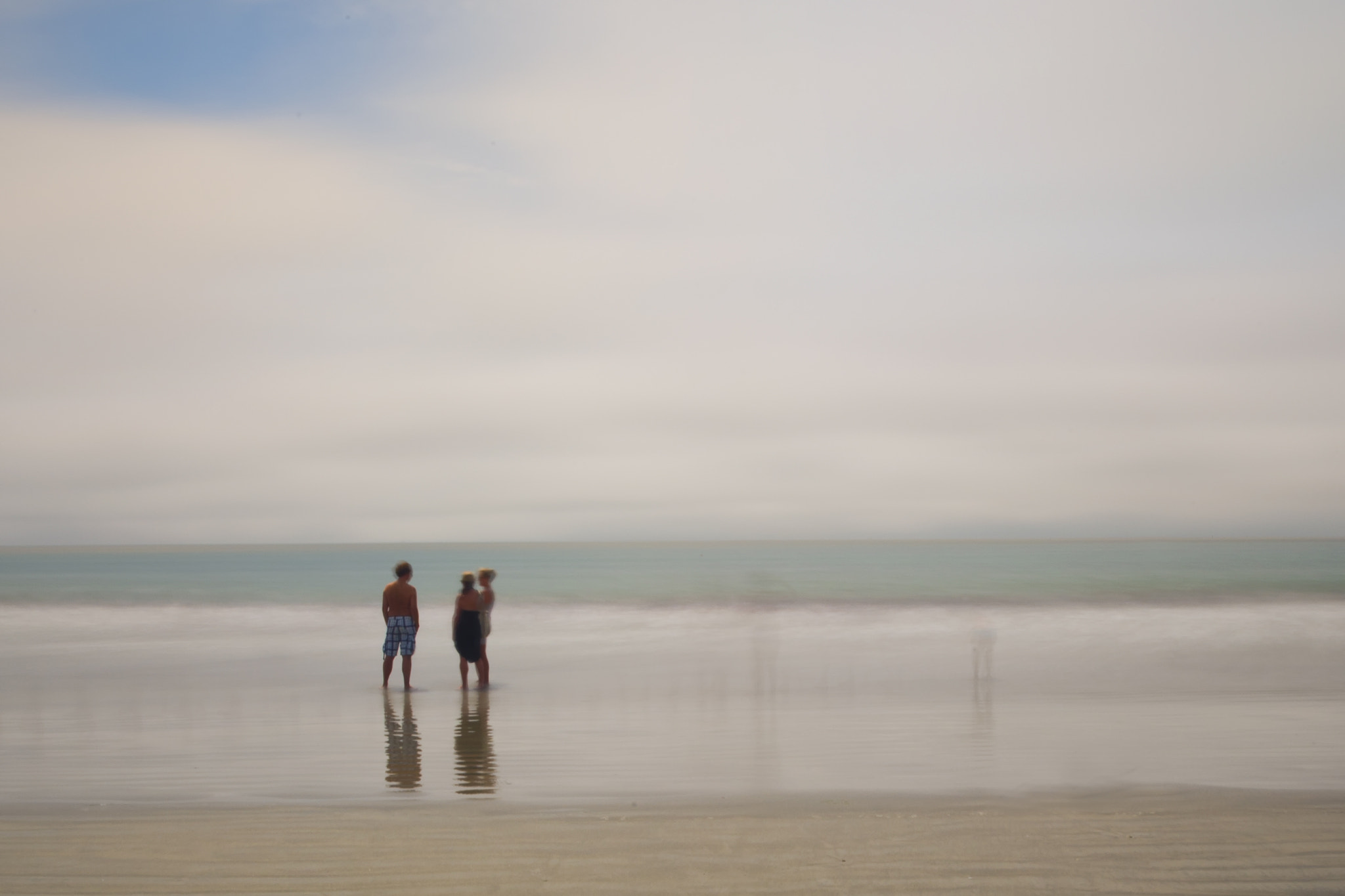 Photograph beach trio by michael nothum on 500px