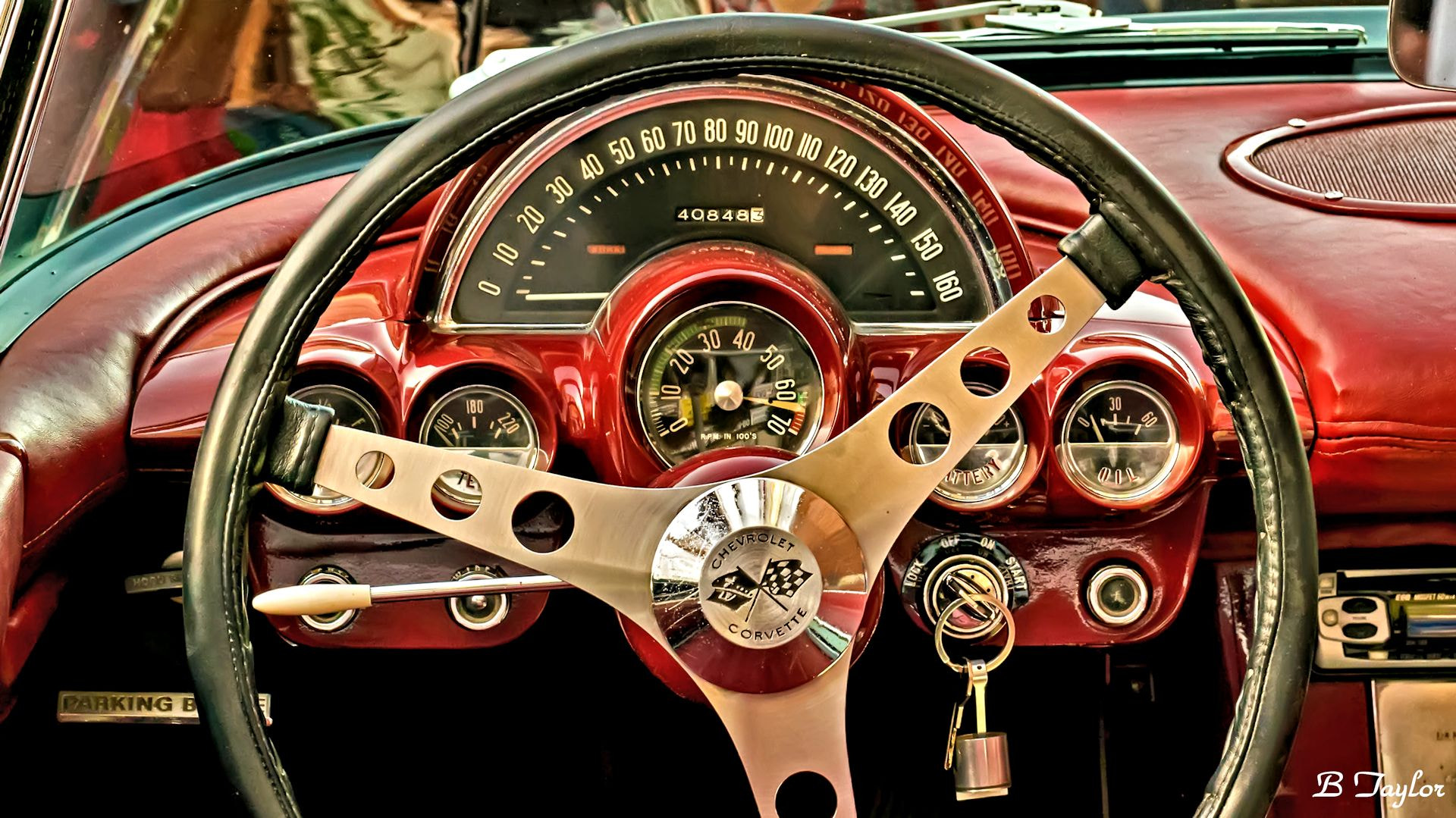 Photograph 1958 Corvette dash by Bradley Taylor on 500px
