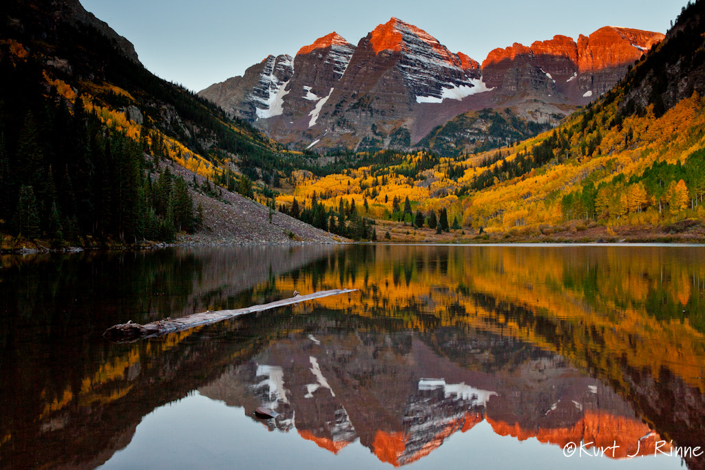 Photograph Maroon Bells by Kurt Rinne on 500px