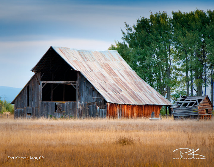 Photograph Barn by Phil Kuhn on 500px