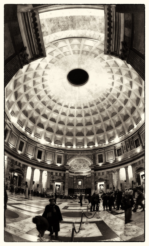 Photograph Pantheon from main entrance by Paolo Costantino on 500px