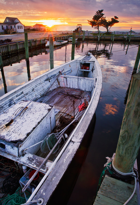 Photograph Old Fishing Harbor - Outer Banks, NC by Adam Pinnell on 500px