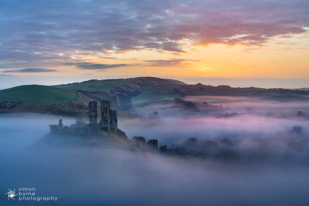 Photograph Corfe Castle, Dorset by Simon Byrne on 500px