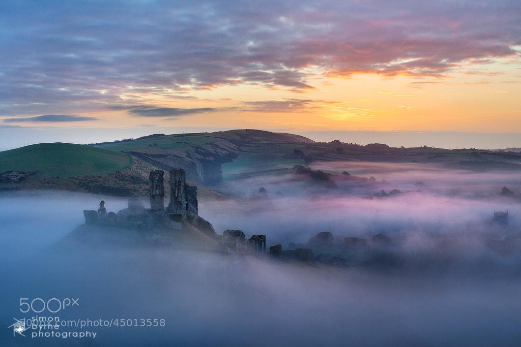 Photograph Corfe Castle, Dorset by Simon Byrne on 500px