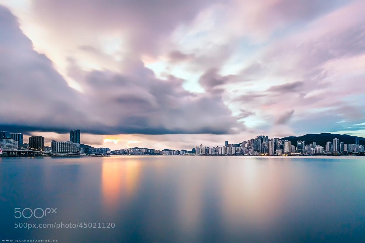 Photograph Sweety sunrise on HK by Bastien HAJDUK on 500px