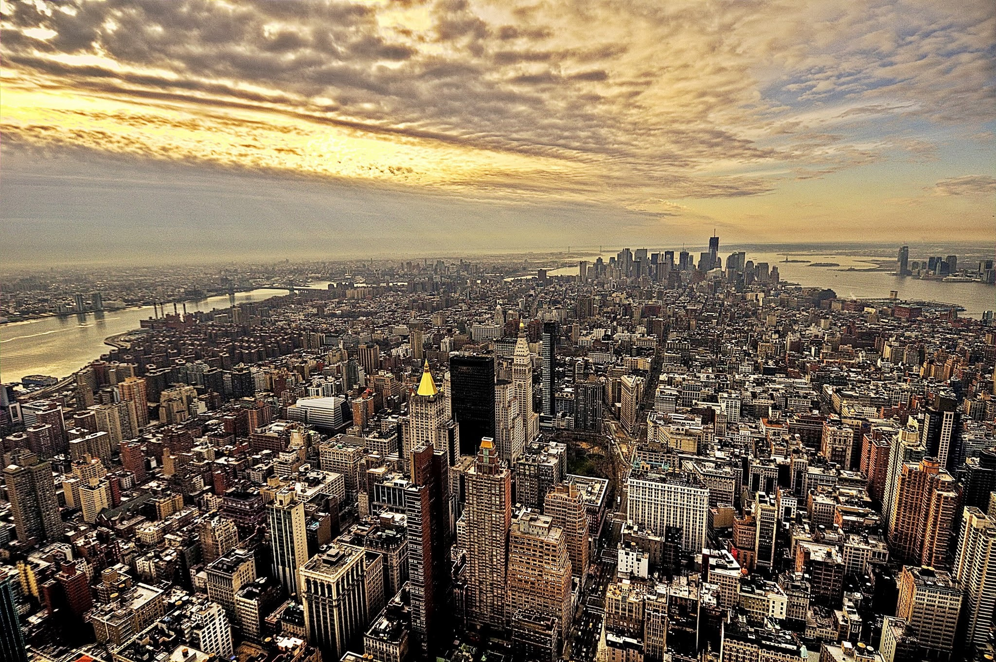 Photograph Golden Morning in NYC by alberto Borio on 500px