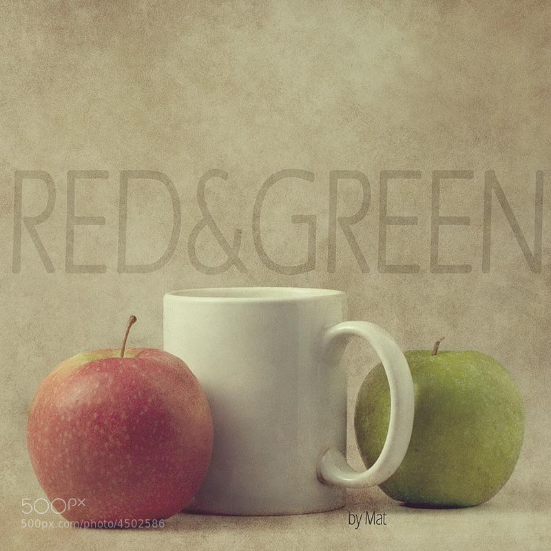 Photograph RED & GREEN by Mat Martos on 500px