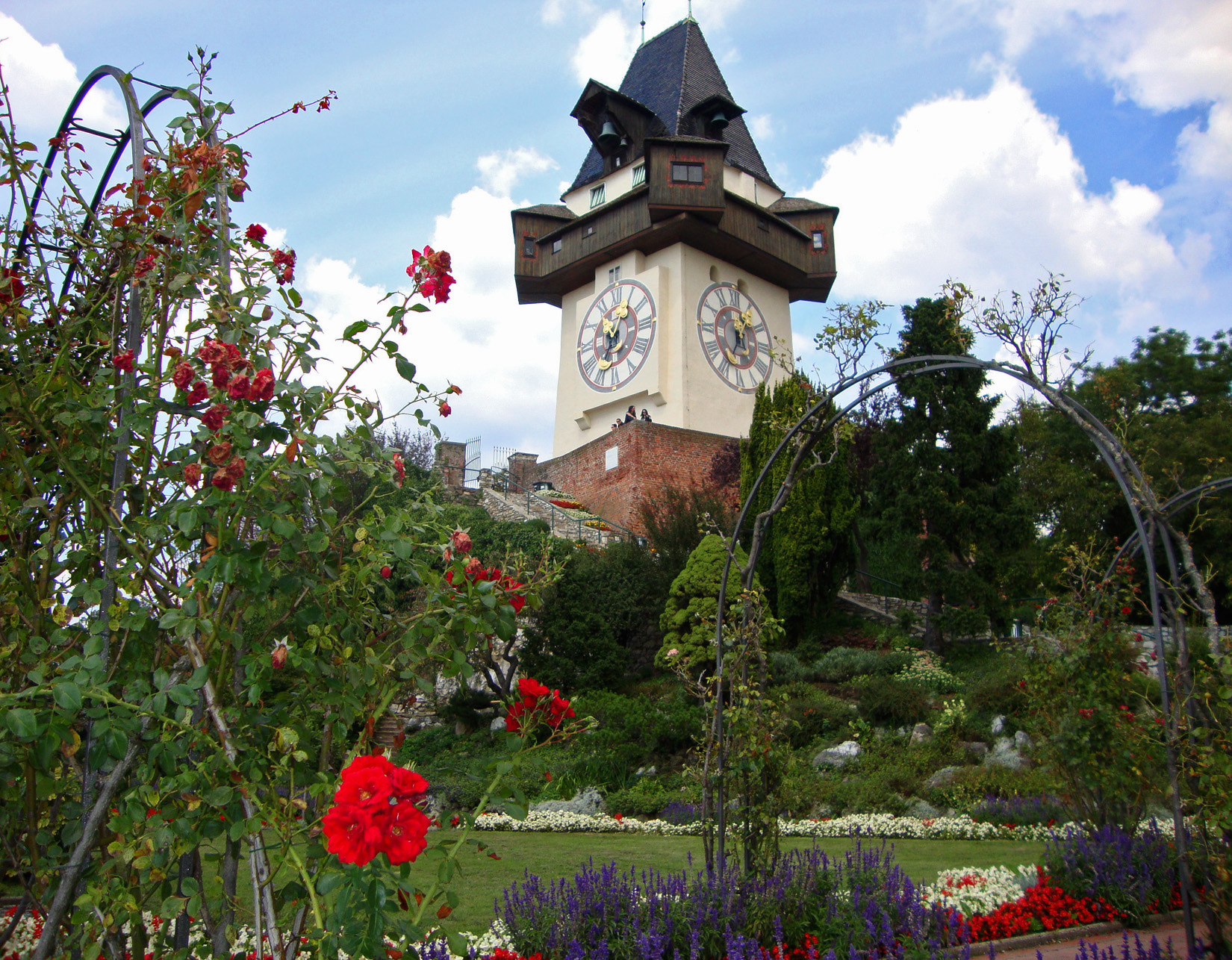 Photograph Clock Tower in Graz/Schlossberg by Marie-Louise Titze on 500px