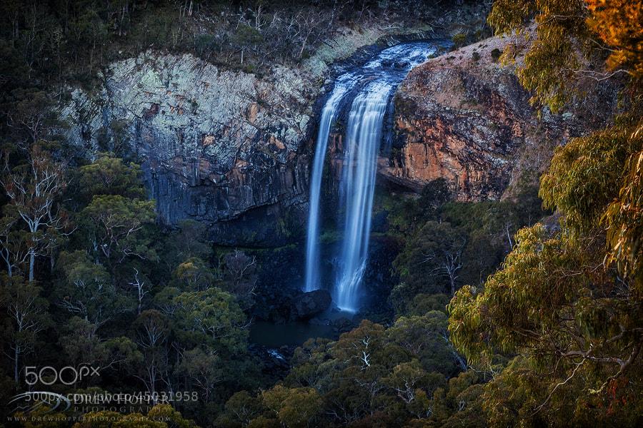 Photograph Lower Ebor Falls by Drew Hopper on 500px