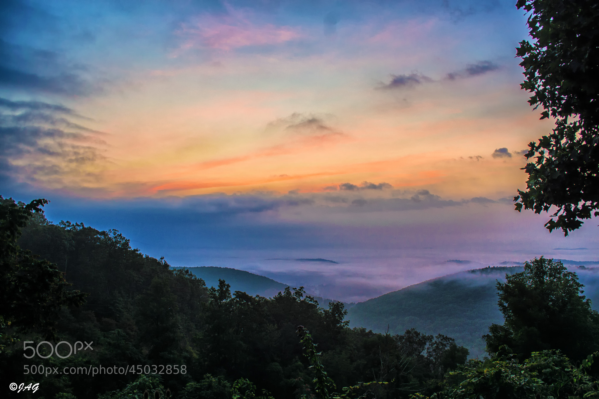 Photograph Shenandoah Sunrise by James Gramm on 500px