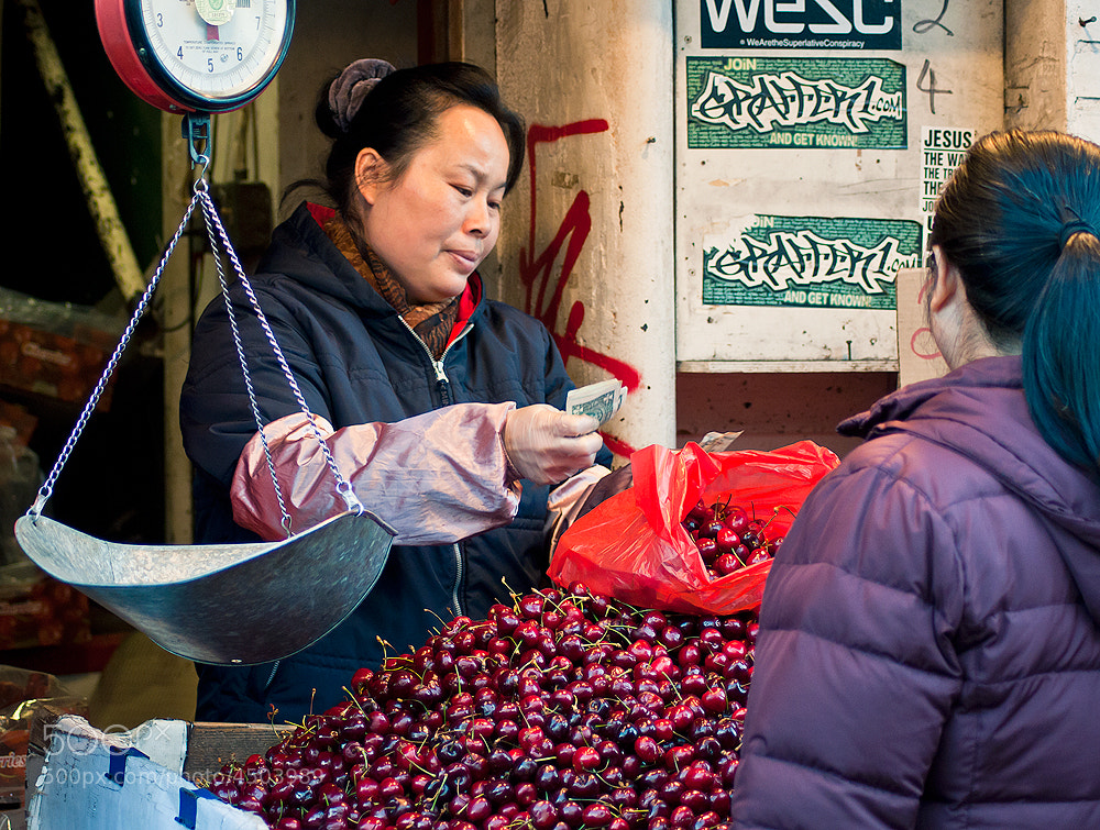Photograph Cherry seller by Moa Butayban on 500px