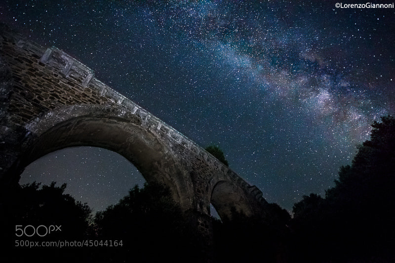 Photograph Starry bridge by Lorenzo Giannoni  on 500px