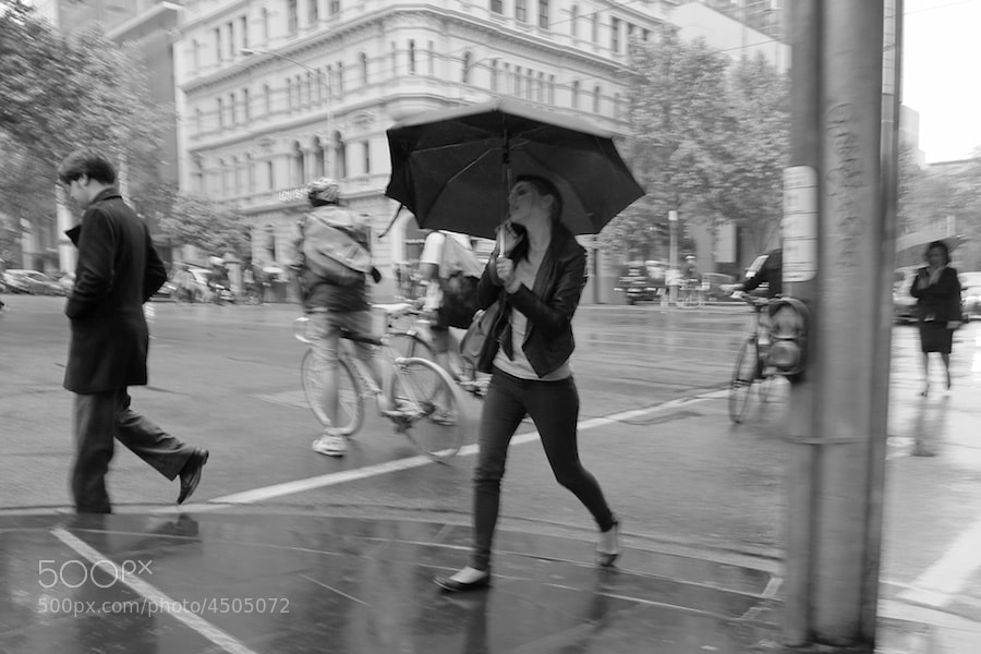 Photograph Melbourne Rain by Carl Parow on 500px