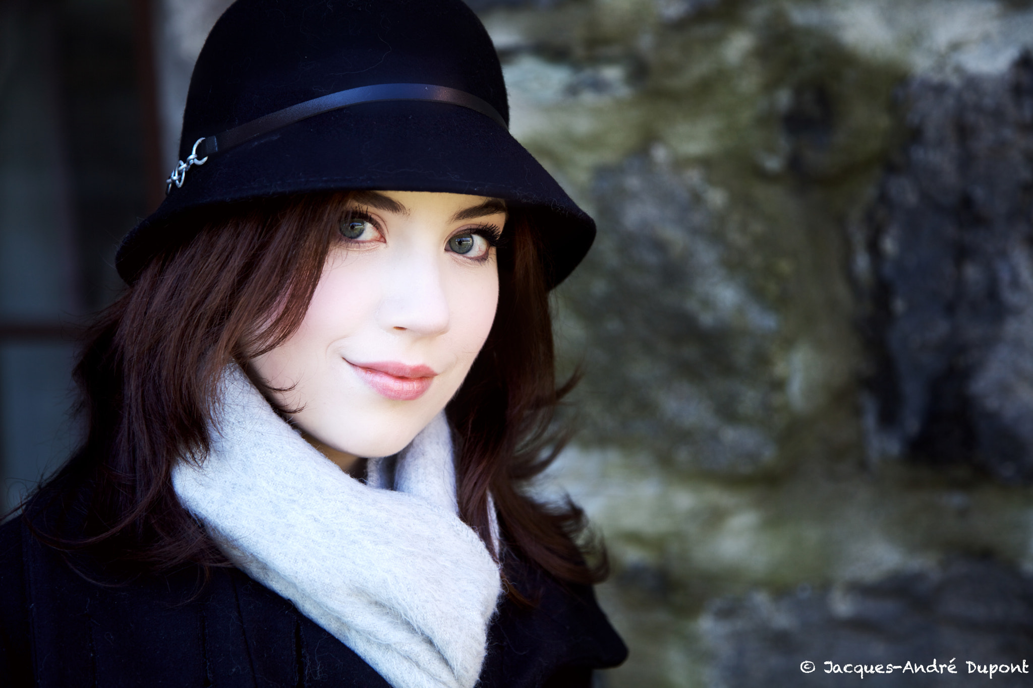 Photograph Vanessa - Winter Portrait - 3 by Jacques-Andre Dupont on 500px
