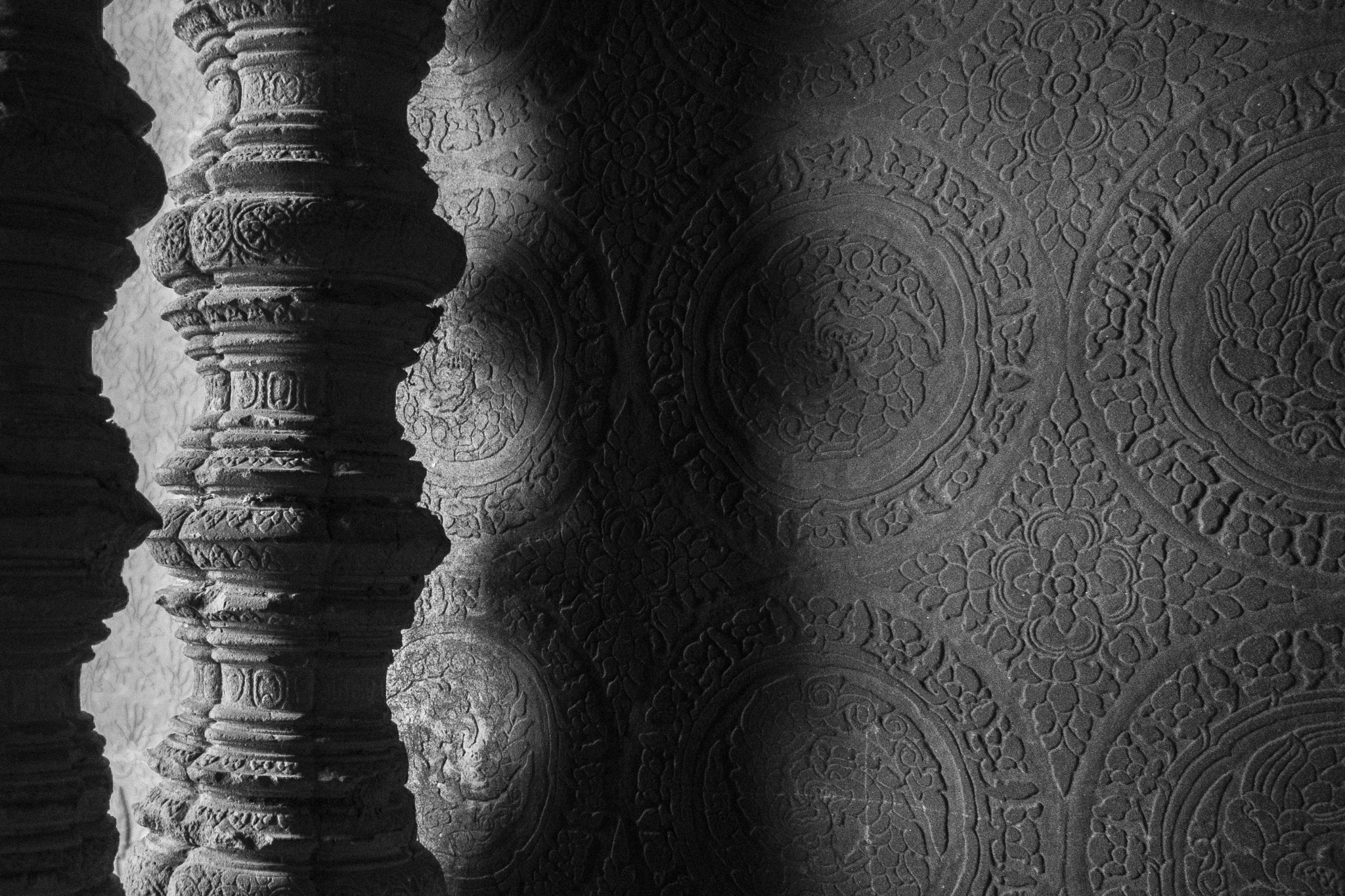 Photograph Shadows on the temple's walls by Joseph Louis Tan on 500px