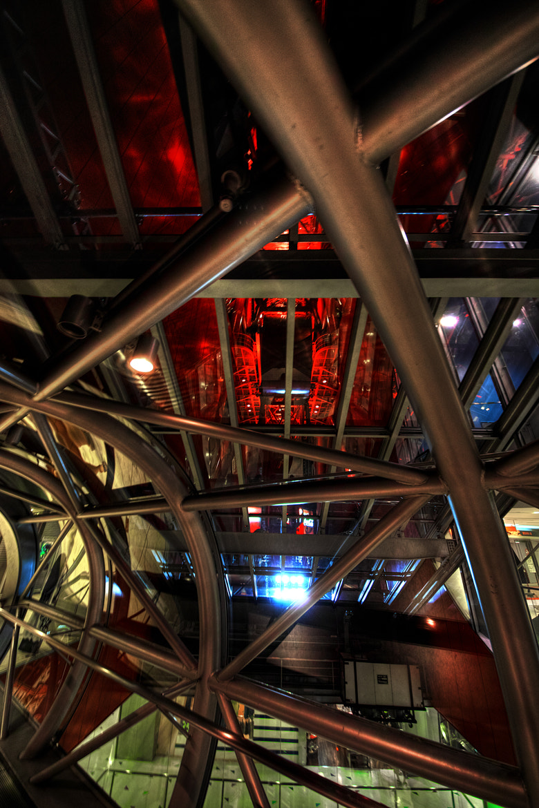 Photograph Space Truss by Azul Obscura on 500px