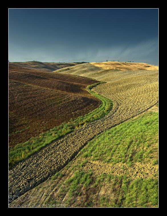Photograph Tuscany Lines by György Vrbovszki on 500px