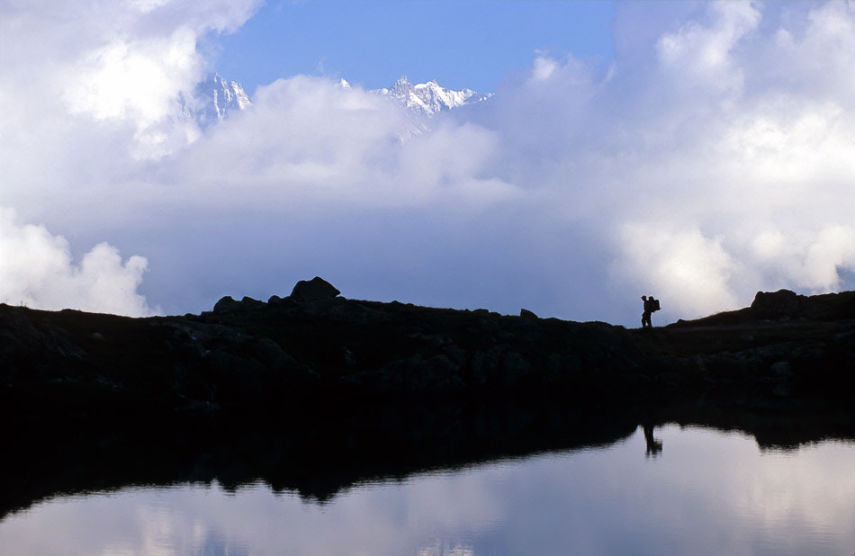 Photograph The hiker by Jerome Obiols on 500px