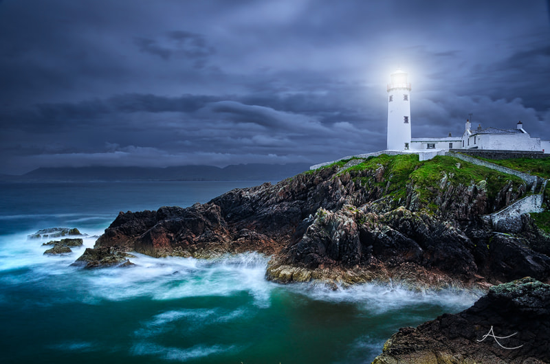 Photograph Fanad Head Lighthouse by Alan Owens on 500px