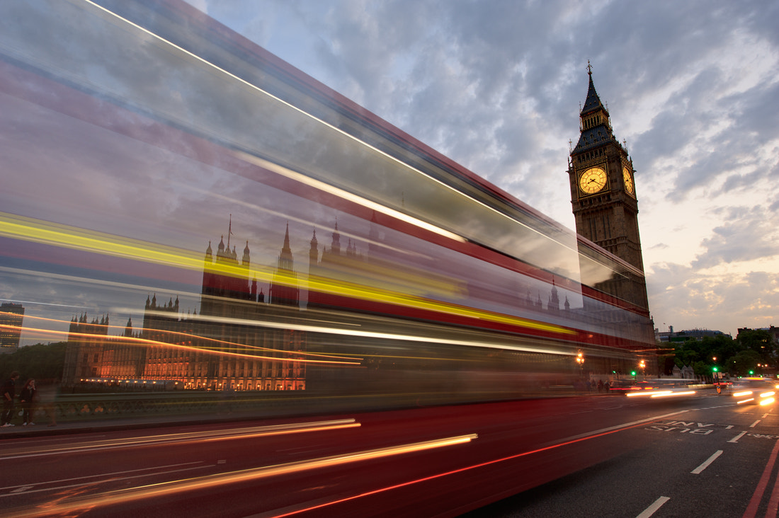 Photograph Red, and Big Ben by Sung Chul Park on 500px
