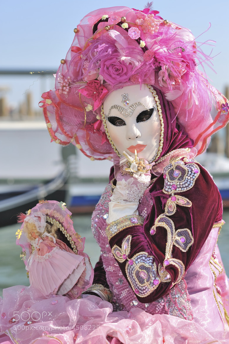 Photograph Mask pink by Alessandro Galassi on 500px