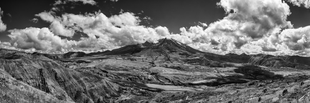 Photograph Mt St Helens Panorama by Mike Hagen on 500px