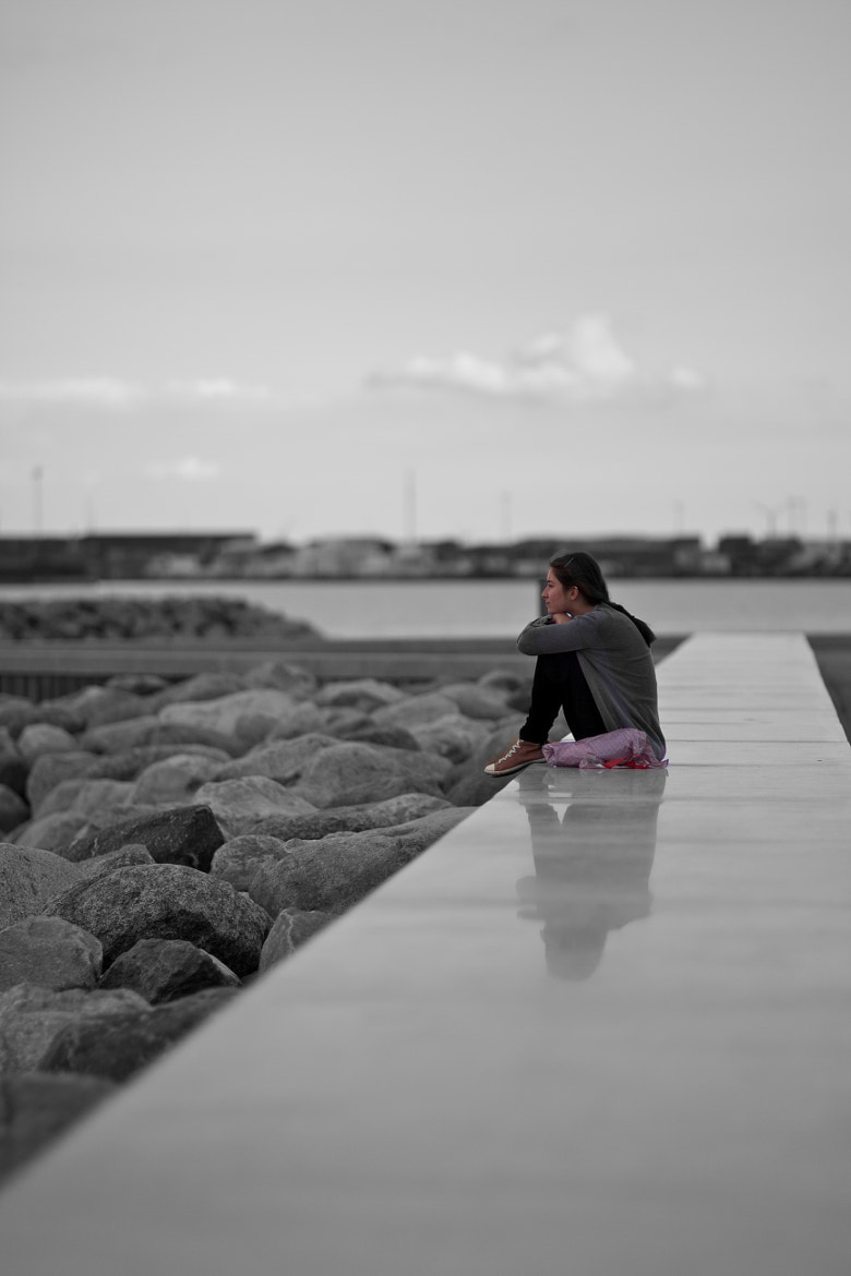 Photograph Girl think about the future by Mikael Klint on 500px