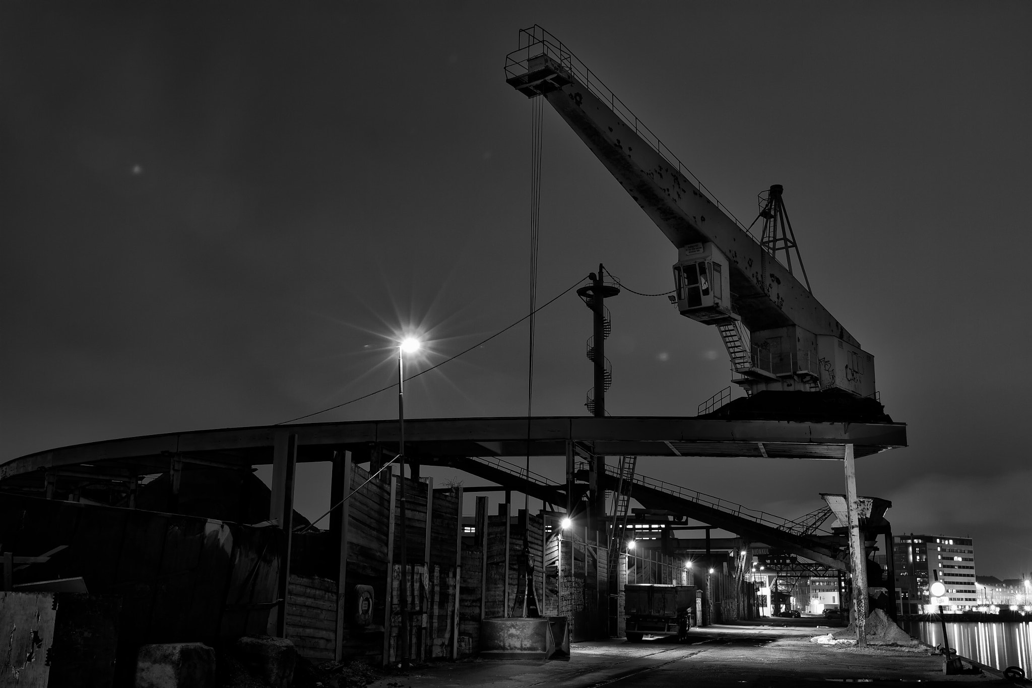 Photograph Light at the shipyard by Mikael Klint on 500px