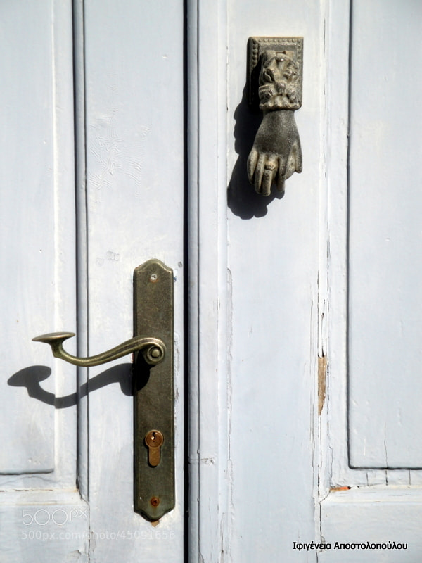 Photograph Knock-Knock by Ifigeneia  Apostolopoulou on 500px