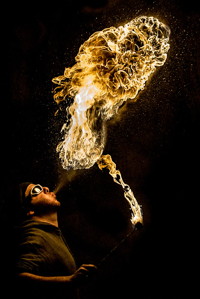 Photograph Firebreather by Mohamed Khalil El Mahrsi on 500px