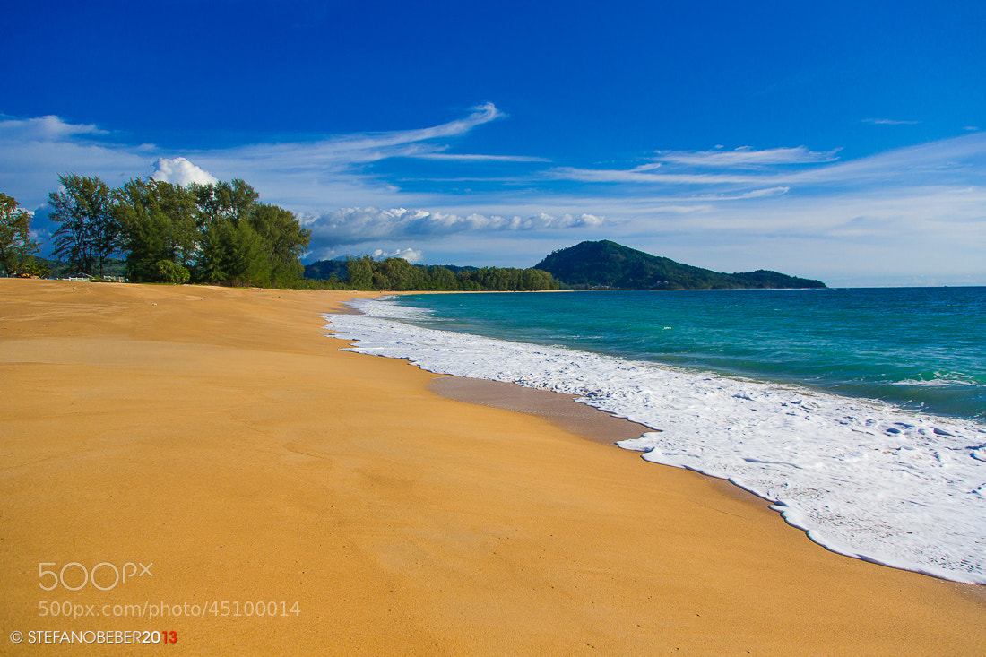Photograph Mai Khao beach by Stefano Beber on 500px