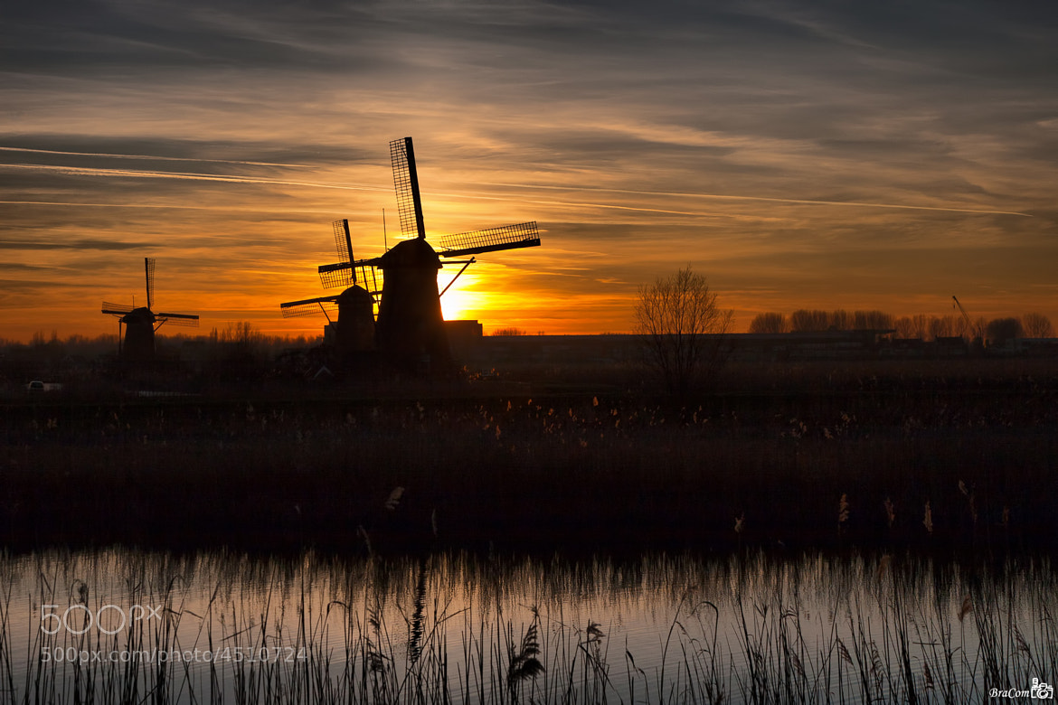 Photograph Sunset Mills by Bram van Broekhoven on 500px
