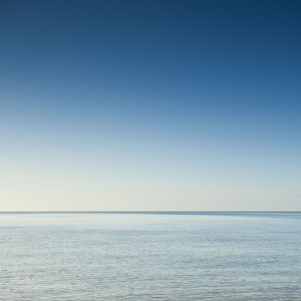 Photograph Pure blue by Louis-Thibaud  Chambon on 500px