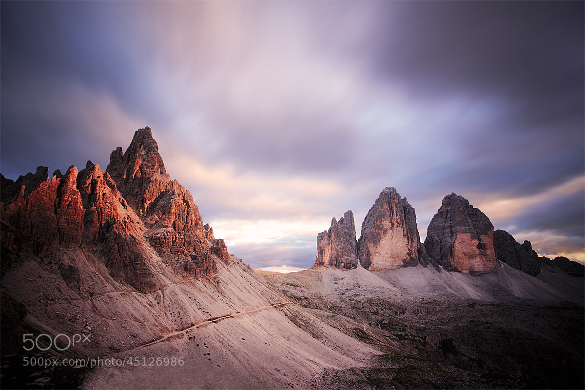 Photograph Tre cime by Damiano Serra on 500px