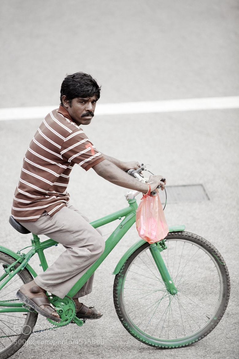 photograph indian cyclist by andr becker on 500px. Black Bedroom Furniture Sets. Home Design Ideas