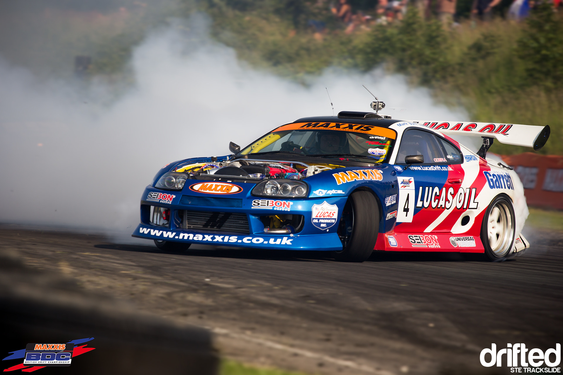 Photograph Uber Mega Awesome Lock, Sats Cosworth Supra Piloted by Mark Luney, Ste Trackslide BDC RD3 by Ste Trackslide on 500px