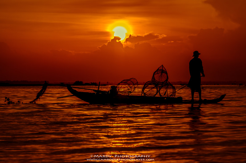Photograph I'm a fisherman! by Mardy Suong Photography on 500px