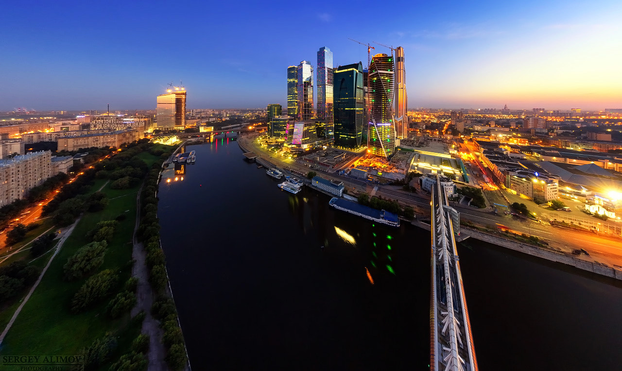 Photograph The Moscow Downtown by Sergey Alimov on 500px