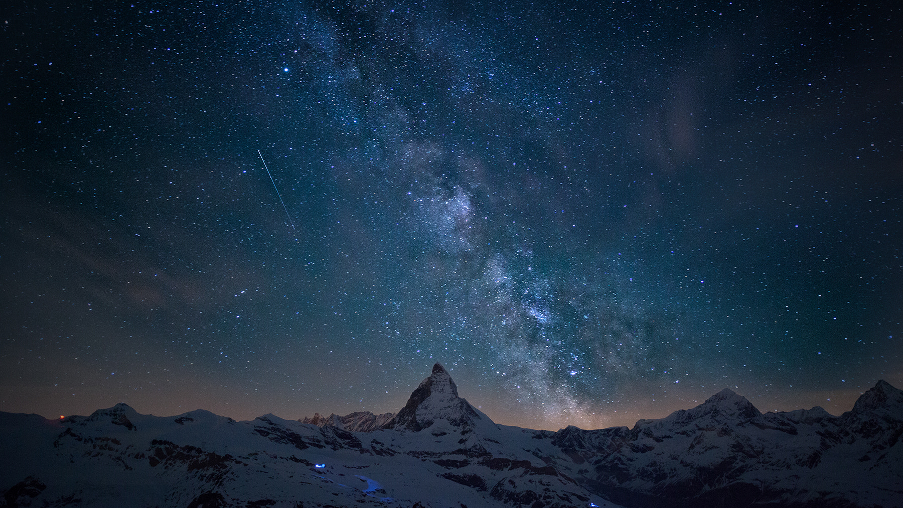 Photograph Milkyway over Matterhorn by Thomas Fliegner on 500px