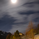 Full moon, Malix GR, Switzerland