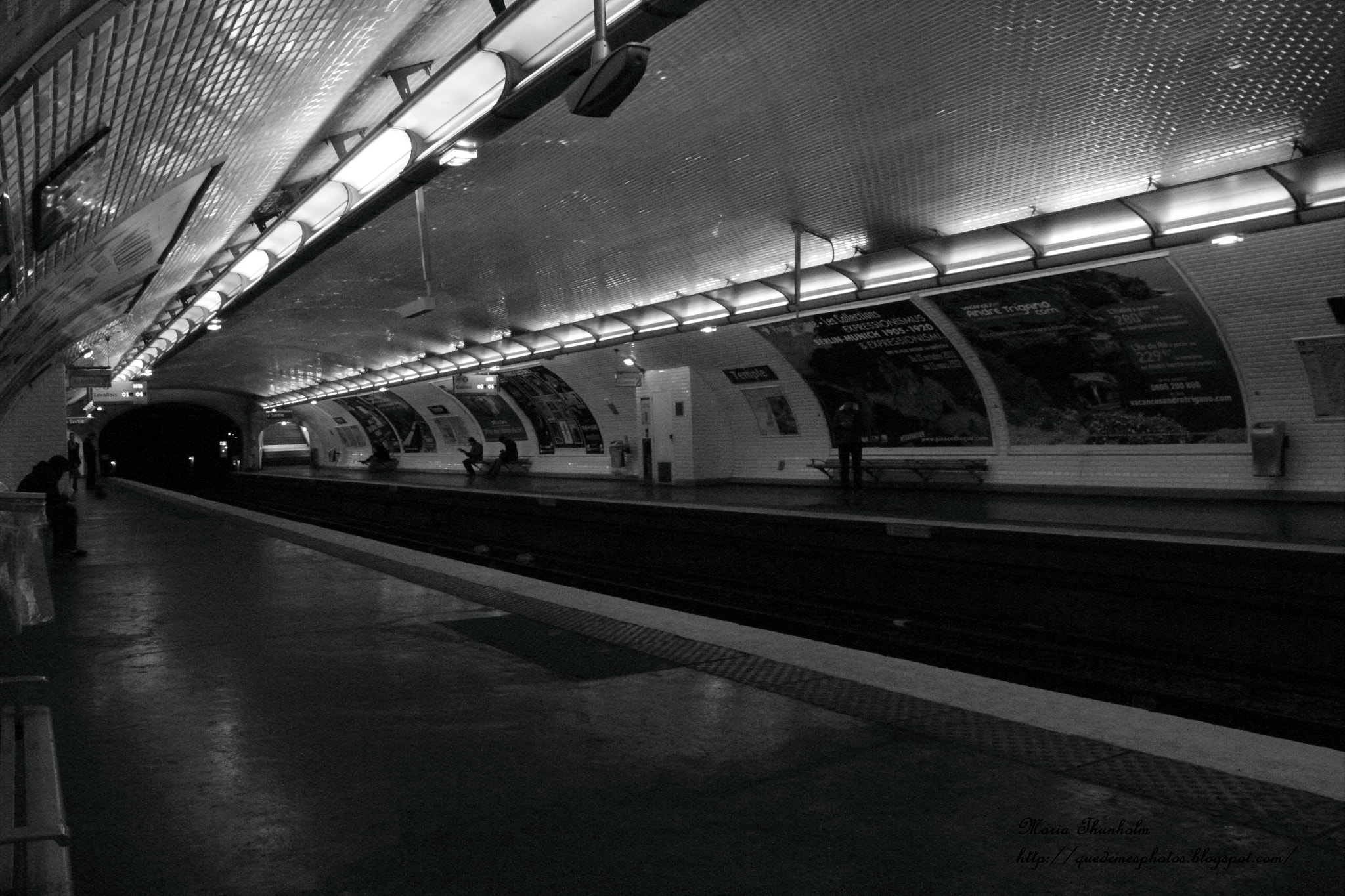 Photograph Métro Temple by Maria Thunholm on 500px