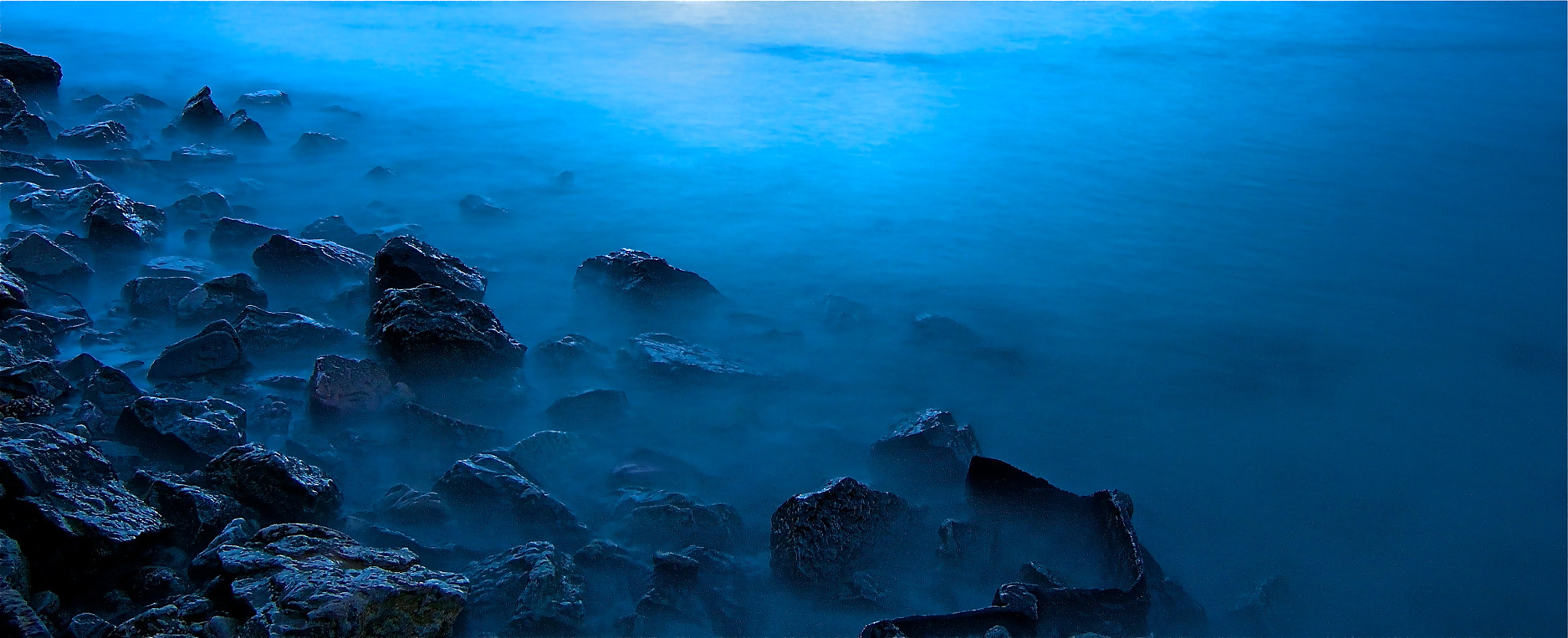 Photograph Dark night at the beach by Sufian Alashger on 500px
