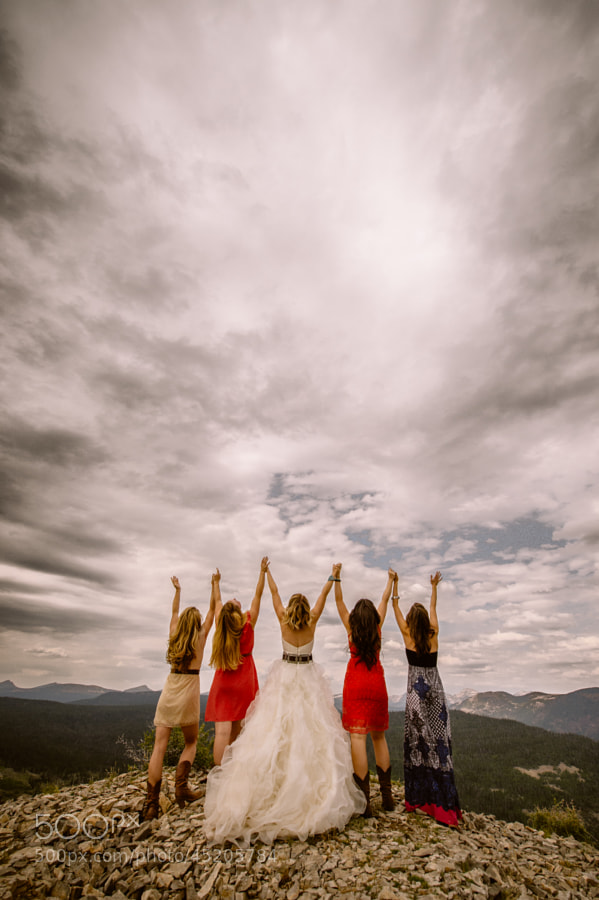 Photograph Bridal Party by Braden Call on 500px