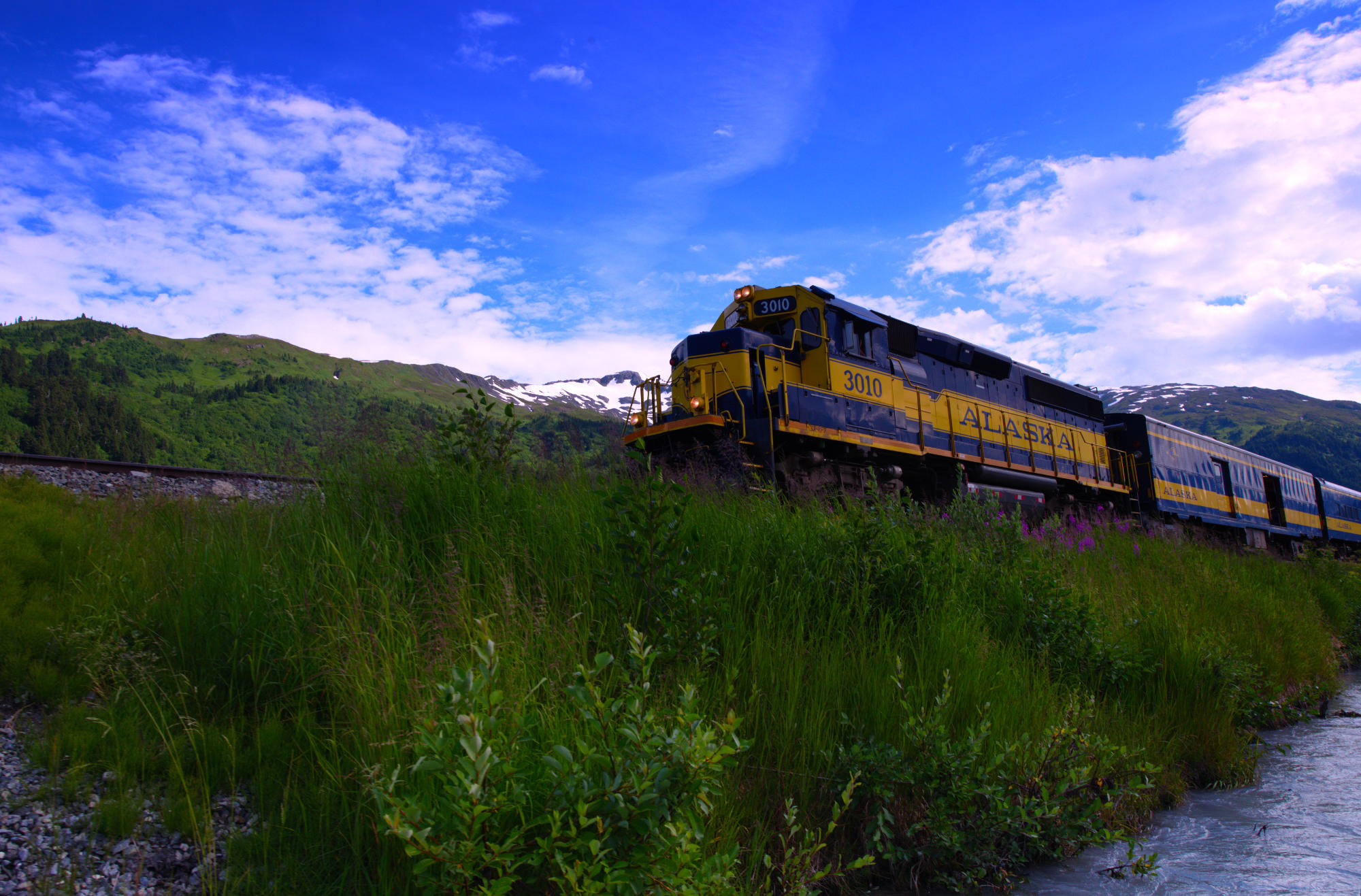 Photograph Alaska Railroad by Jeff Preletz on 500px