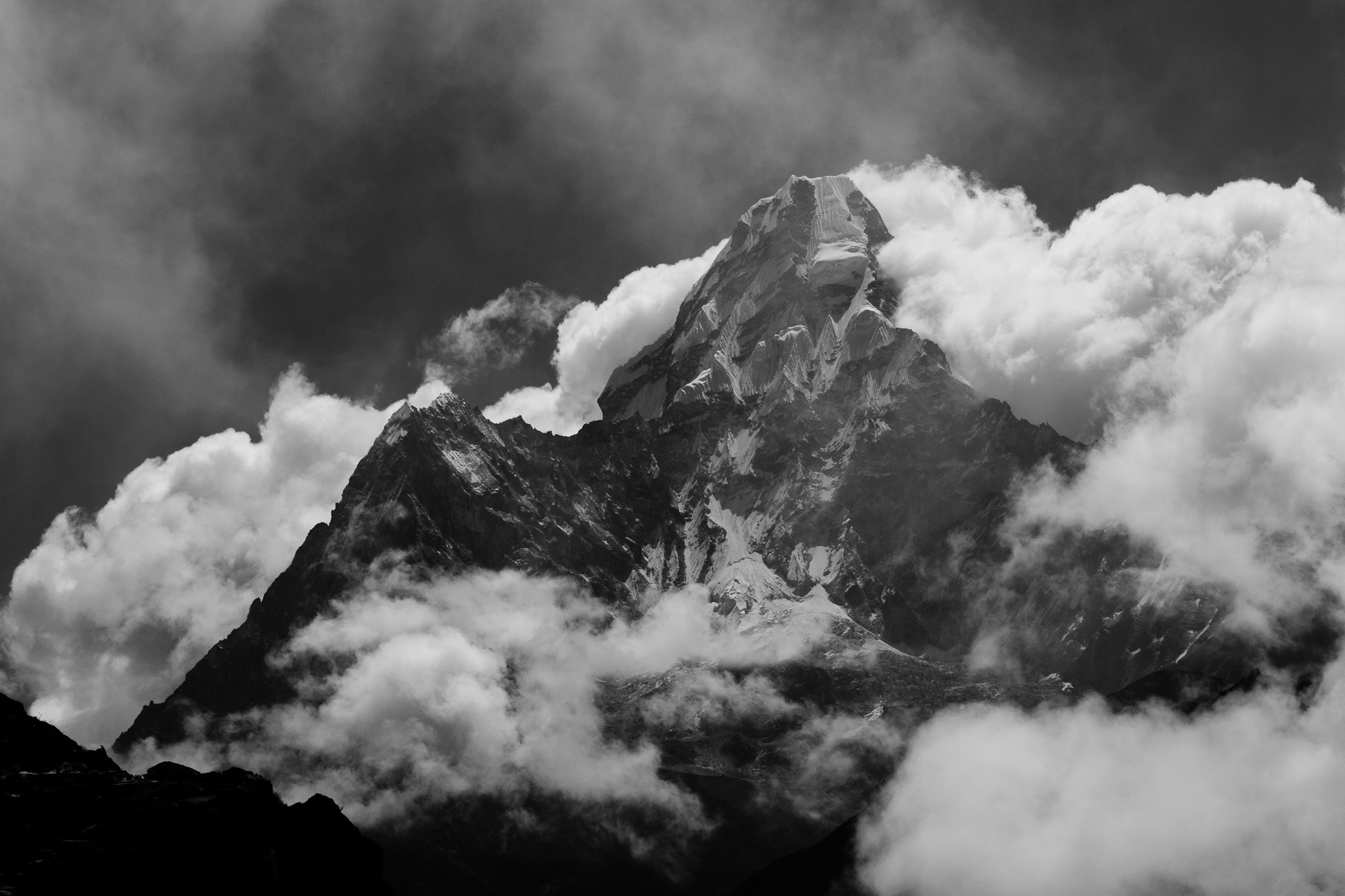 Photograph Ama Dablam Appears by Tristan Rayner on 500px