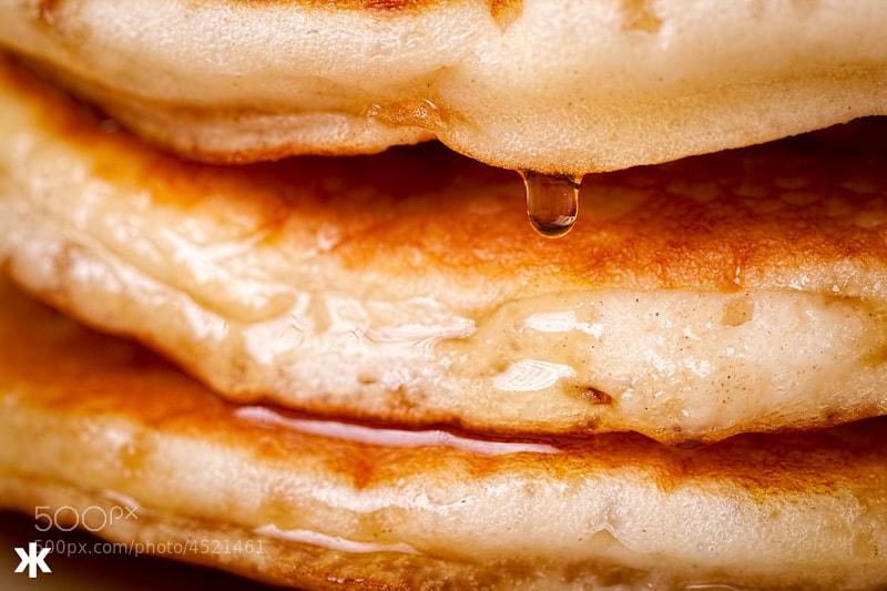 Photograph Closeup Pancake by Dade Freeman on 500px
